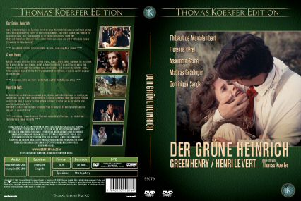 DVD cover of Green Henry