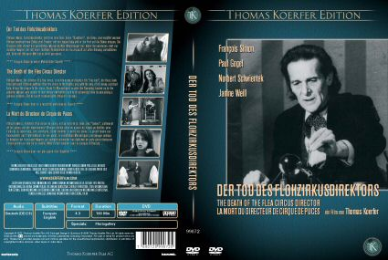 DVD cover of The Death of the Flea Circus Director